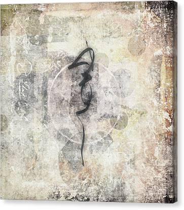 Prayer Flag 17 Canvas Print by Carol Leigh