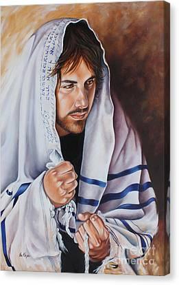 Prayer For Israel Canvas Print by Ilse Kleyn