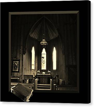 Praying For It Canvas Print by Barbara St Jean