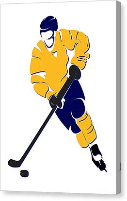 Predators Shadow Player Canvas Print by Joe Hamilton