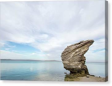 Preekstoel Rock Formation Canvas Print by Peter Chadwick