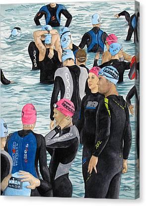 Preparation Canvas Print by Tanya Petruk