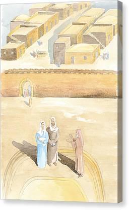 Presentation Canvas Print by John Meng-Frecker