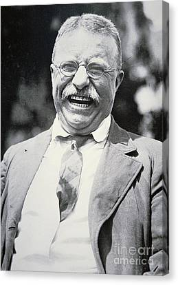 President Theodore Roosevelt Canvas Print by American Photographer