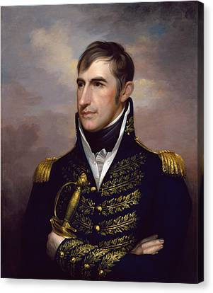 President William Henry Harrison Canvas Print by War Is Hell Store