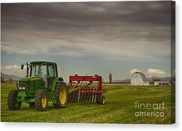 Preston Farm Canvas Print by Idaho Scenic Images Linda Lantzy