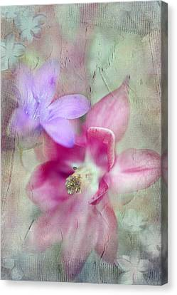 Pretty Flowers Canvas Print by Annie Snel