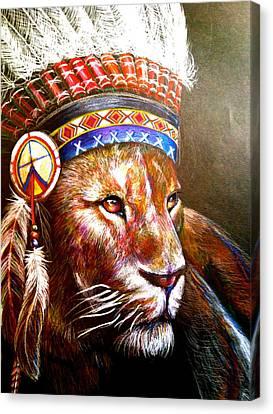 Pride Canvas Print by Natalie Beck