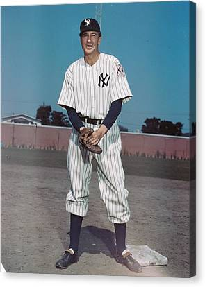 Pride Of The Yankees Canvas Print by Silver Screen