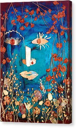 Primal Canvas Print by Diane Fine