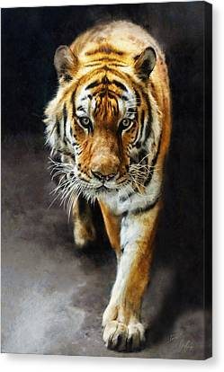 Primal Instincts Canvas Print by Marcin and Dawid Witukiewicz