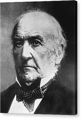 Prime Minister Gladstone Canvas Print by Underwood Archives