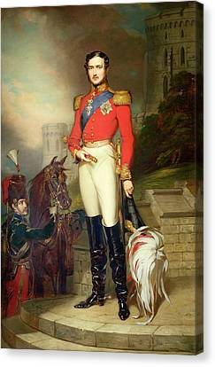 Prince Albert Canvas Print by John Lucas