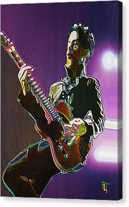 Prince Canvas Print by  Fli Art