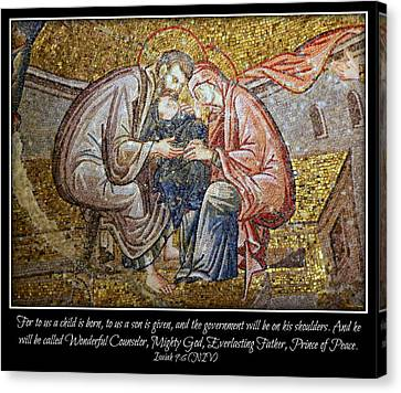 Prince Of Peace Canvas Print by Stephen Stookey
