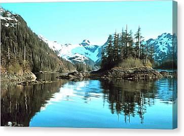 Prince William Sound Alaska Canvas Print by NOAA Photographer