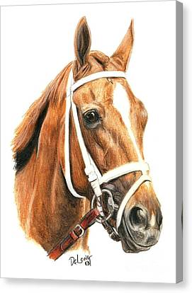 Princess Of Sylmar Canvas Print by Pat DeLong