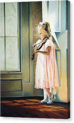 Private Commission Canvas Print by Sally Buffington