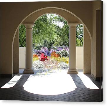 Private Garden Canvas Print by Kume Bryant
