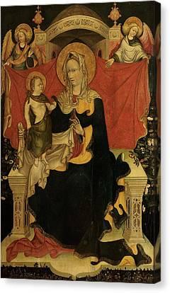 Probably Artista Veneziano, Madonna Canvas Print by Everett