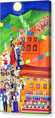 Procession Canvas Print by Evangelina Portillo
