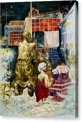 Prodigal Son Canvas Print by Nekoda  Singer