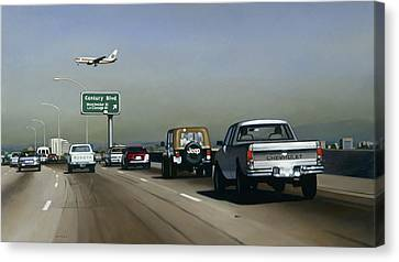 Progress, 2005 Canvas Print by Joan Longas