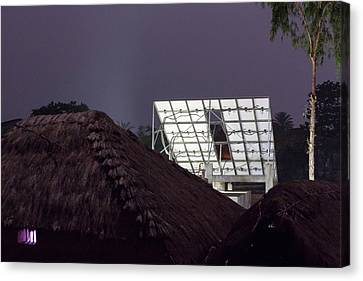 Project To Supply Renewable Electricity Canvas Print by Ashley Cooper