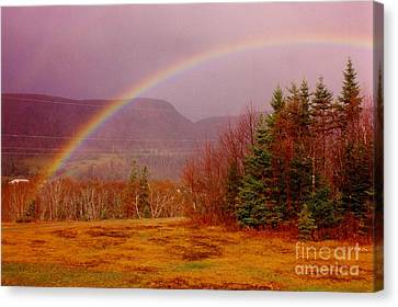 Promise And Hope Cape Breton Canvas Print by John Malone