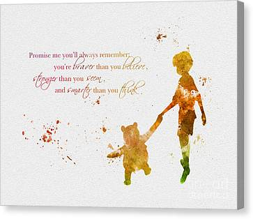 Promise Me You'll Always Remember Canvas Print by Rebecca Jenkins