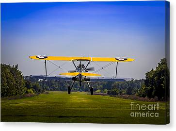 Prop Wash Canvas Print by Marvin Spates