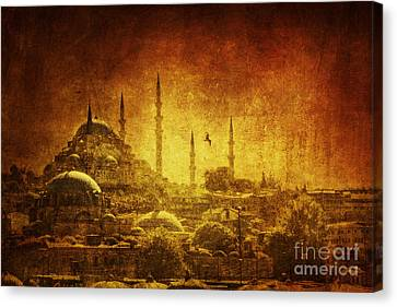 Prophetic Past Canvas Print by Andrew Paranavitana