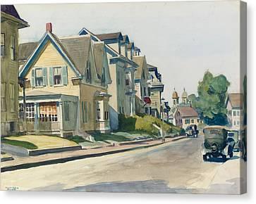 Prospect Street Canvas Print by Edward Hopper