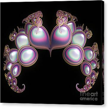 Protective Heart Canvas Print by Sara  Raber