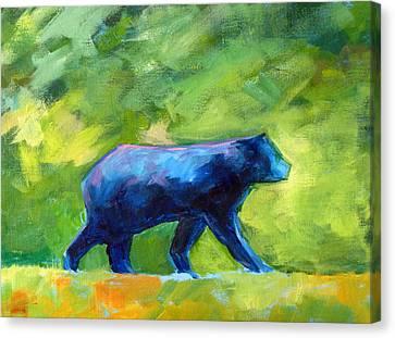 Prowling Canvas Print by Nancy Merkle