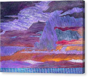 Psalm 97 6 Canvas Print by J Michael Orr