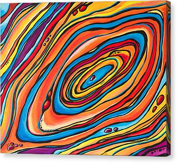 Psychedelic Canvas Print by Emily Brantley