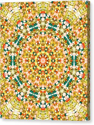 Psychedelic Pattern Canvas Print by Jose Elias - Sofia Pereira