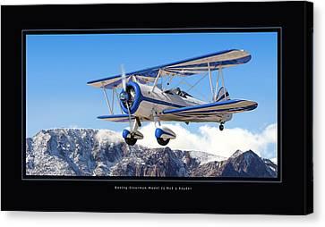 Pt-17 Stearman Canvas Print by Larry McManus