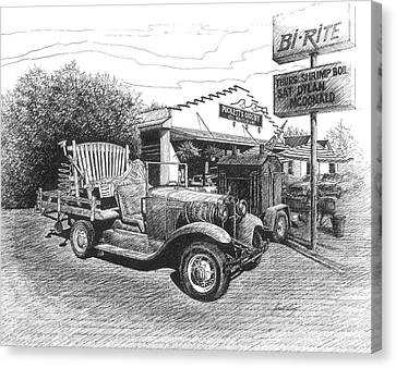 Puckett's Grocery And Restuarant Canvas Print by Janet King