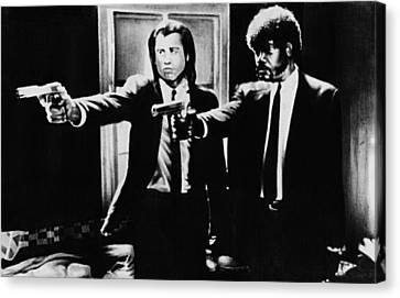 Pulp Fiction Canvas Print by Movie Prints