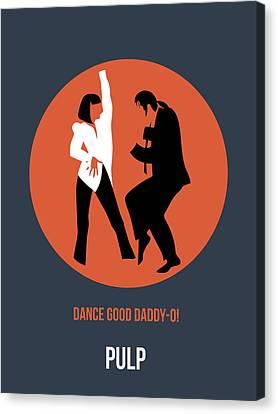 Pulp Fiction Poster 6 Canvas Print by Naxart Studio