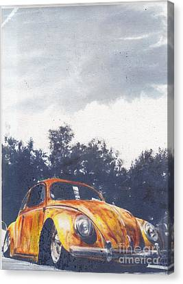 Pumkin Pie Canvas Print by Sharon Poulton