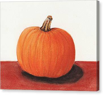 Pumpkin Canvas Print by Anastasiya Malakhova
