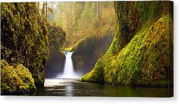Punchbowl Pano Canvas Print by Darren  White