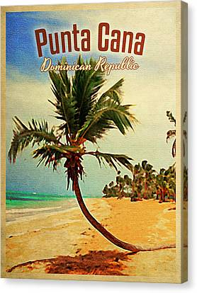 Punta Cana Dominican Republic Canvas Print by Flo Karp