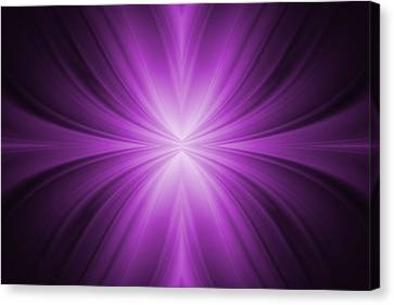 Purple Abstract Background Canvas Print by Somkiet Chanumporn