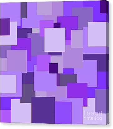 Purple Extravaganza Canvas Print by Mariola Bitner