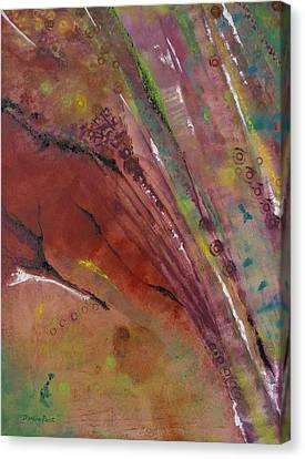 Purple Haze Canvas Print by Denise Peat