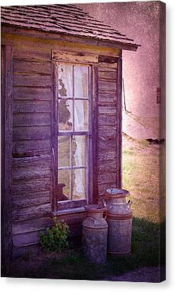 Purple Haze On The Prairie Canvas Print by Judy Hall-Folde